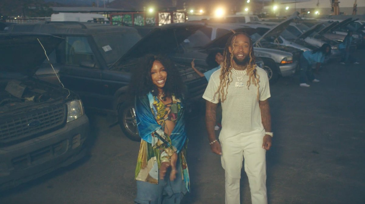 just an appreciation post for the #HitDifferent visuals :) @sza @tydollasign @TheNeptunes bodied this