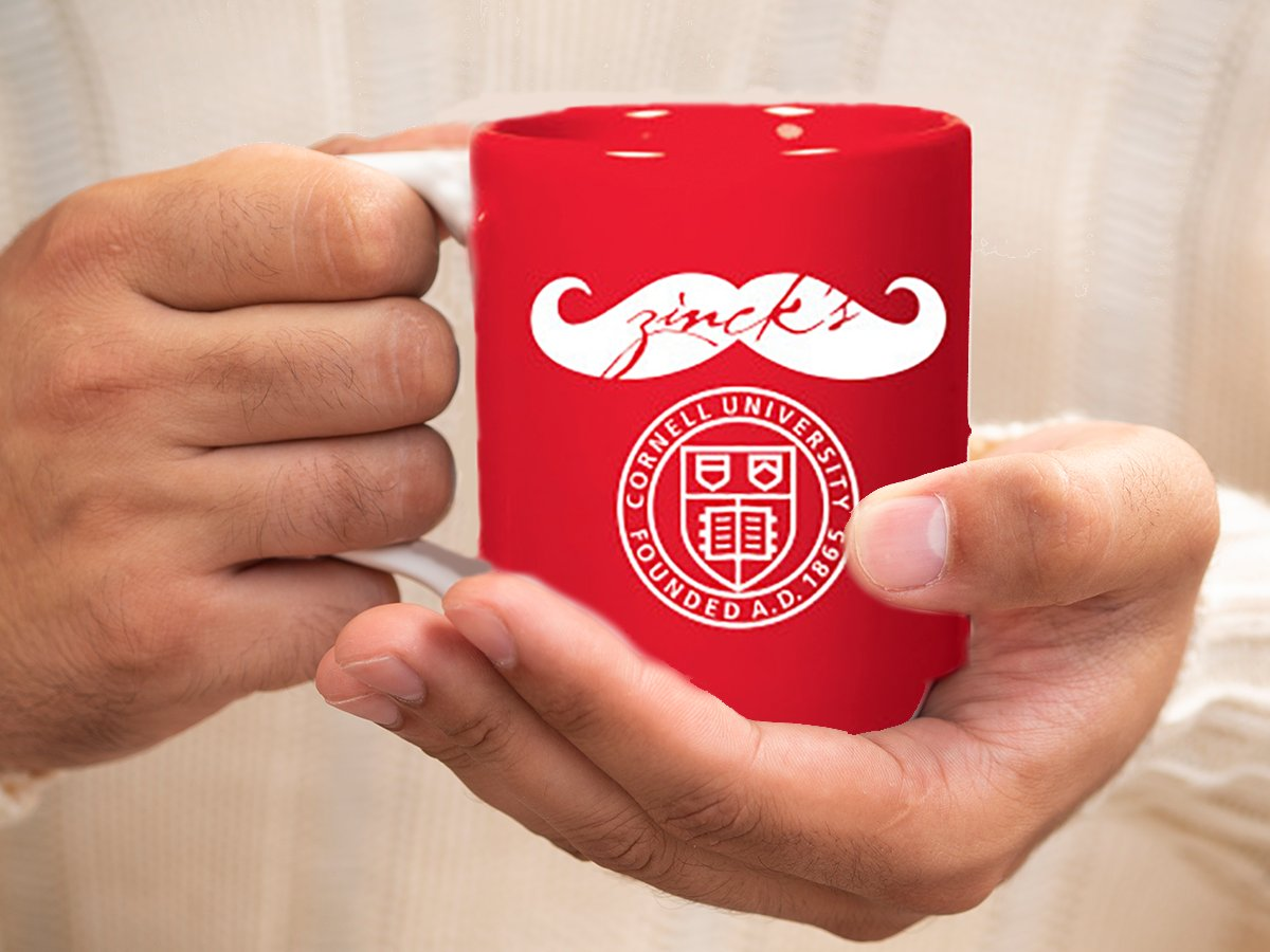 Got your 24 Hours of Zinck's swag? Toast Cornell in style. Order from the @CornellStore by Friday, September 11, to get all the mustache swag you want, delivered faster than you can say 'handlebar' (by Zinck's, Thursday, October 15)! https://t.co/szazYPGmiX https://t.co/iAJSDsNOXq