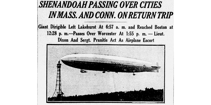 Library Of Congress On Twitter On This Day 1923 The First Us Airship The Uss Shenandoah Makes Its Maiden Flight Otd Chronam Https T Co Jn0ciiltns Https T Co X7vyr7umzp