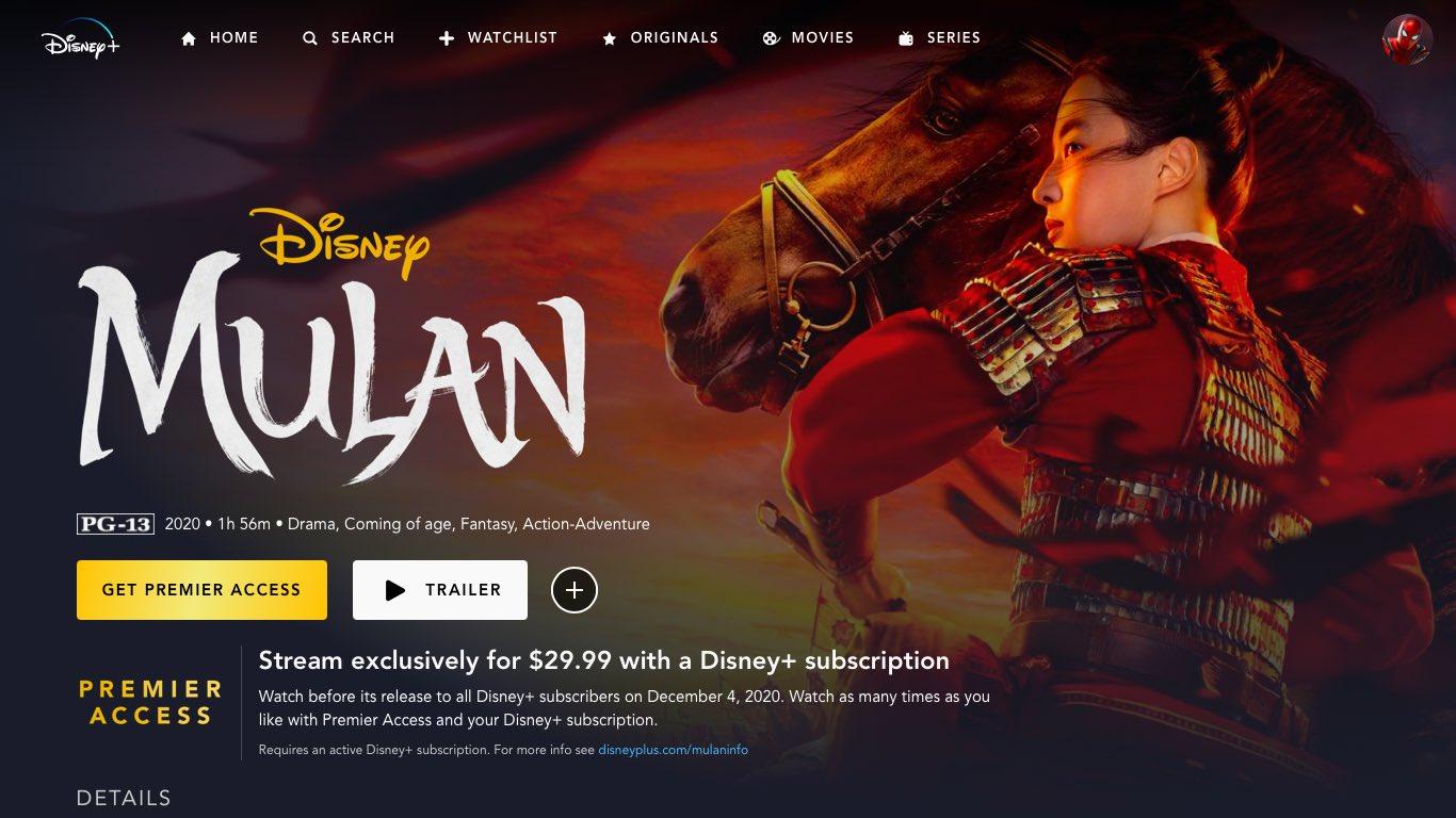 Fazha On Twitter I Want Mulan Disneyplusid