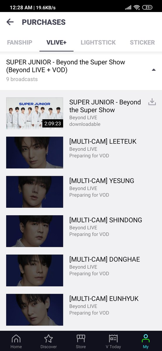 [G.A.] #elfinityandbeyond #SUPERJUNIOR_BeyondLIVE GA! As the VOD of the show is out now, I'm giving away 3 VOD tickets. This is nothing much, but hope it would be a small reward to all the ELF who streamed so hard💙 Instructions as photo: https://t.co/cMroWo8i7L
