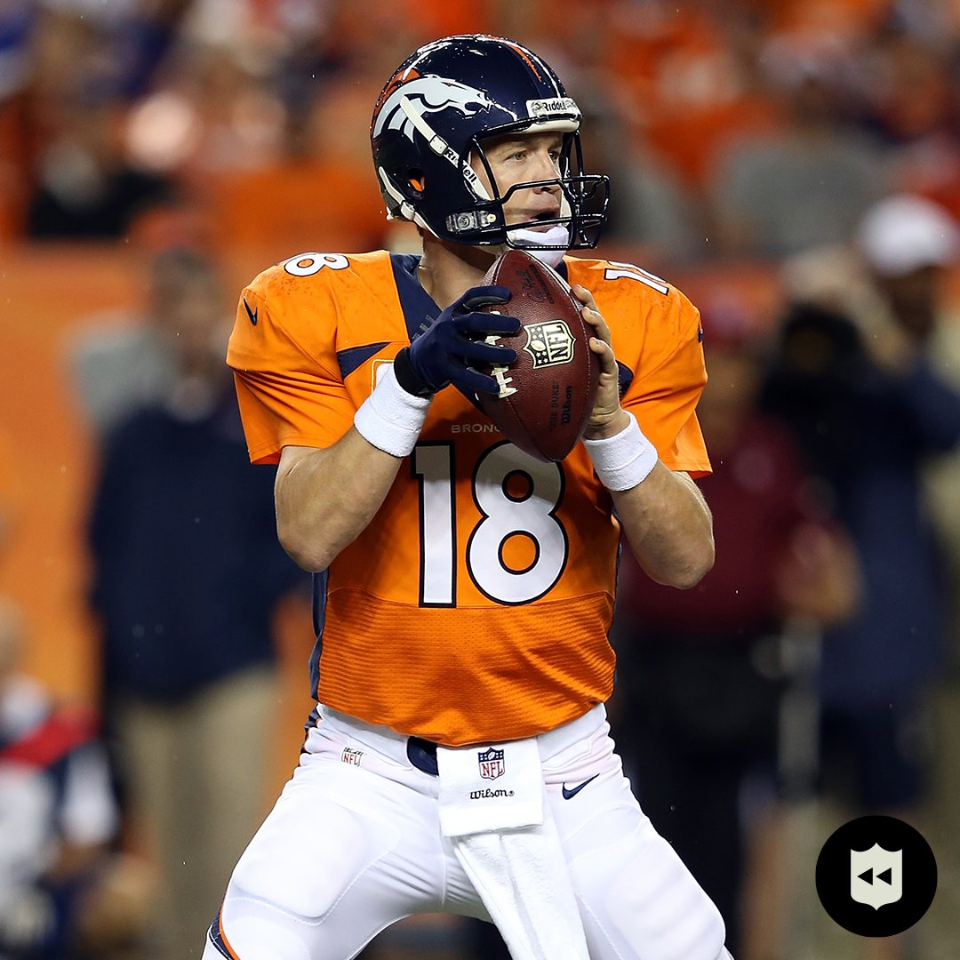 Seven years ago today, Peyton opened the season with SEVEN touchdown passes. @Broncos (Sept. 5, 2013)