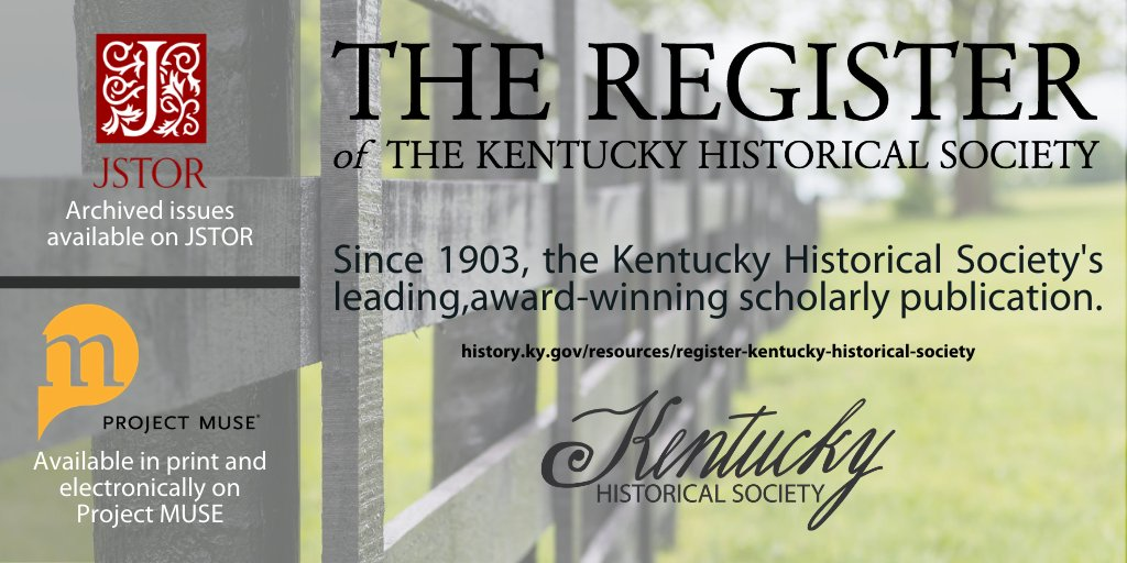 Call to the post for articles on #equinehistory. #RegisterKHS accepting articles that explore horse industry, racing, history of military use, 19th and 20th century KY, & individuals/farms.   Read Register on @ProjectMUSE! @AnimalHistories @AgHistorySoc AnimalHistories @BAHSoc https://t.co/DOr0StZEtI