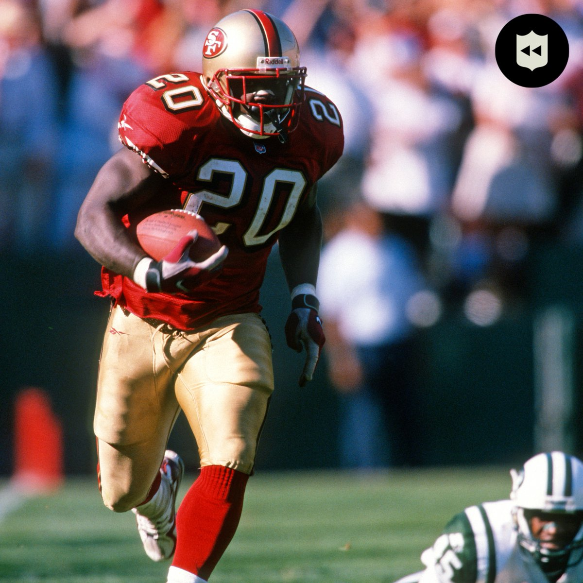 On this day in 1998, @garrisonhearst5 went 96 yards in OT. (Sept. 6, 1998)