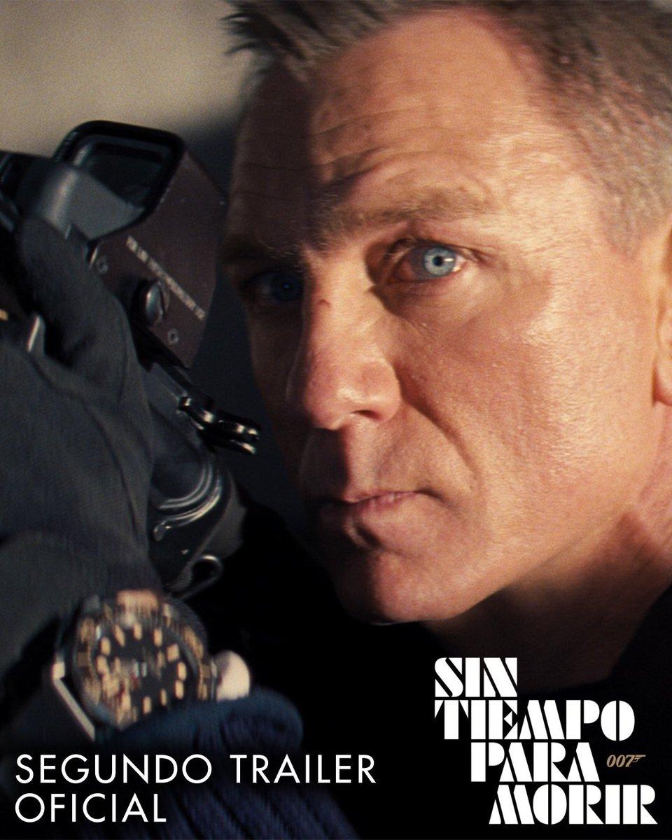 Llego el nuevo trailer de #Bond25 ... no se lo pierdan en el próximo tweet 😎 https://t.co/ZXpnzTKbiH
