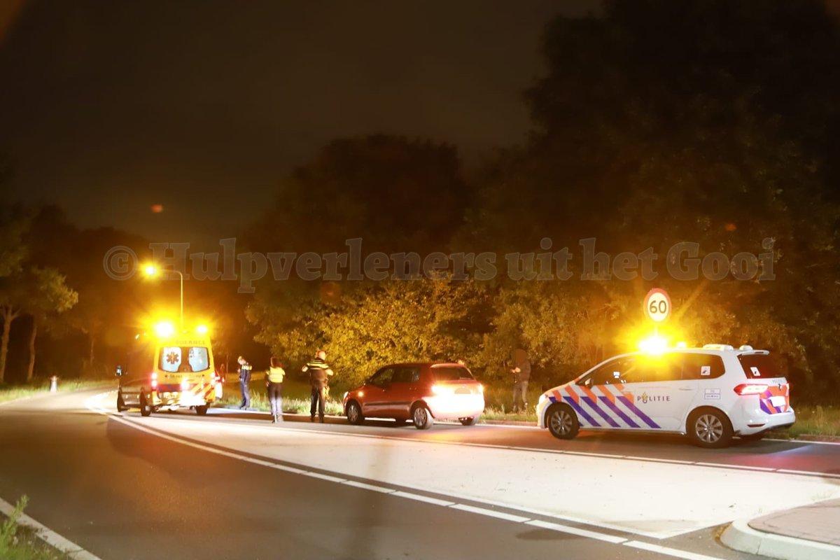 Melding politie Hilversumse Meentweg Hilversum inzake ongeval