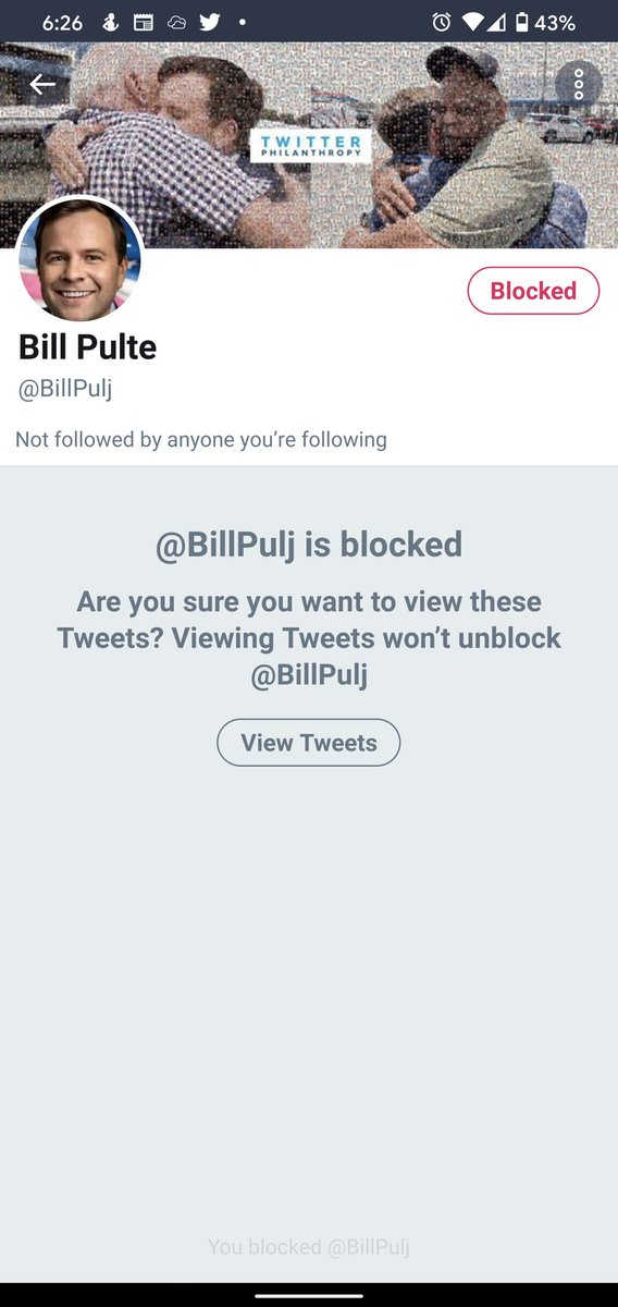 @pulte another person pretending to be you. Reported and blocked them! Fellow teammates, make sure to check for the blue check next to the name!