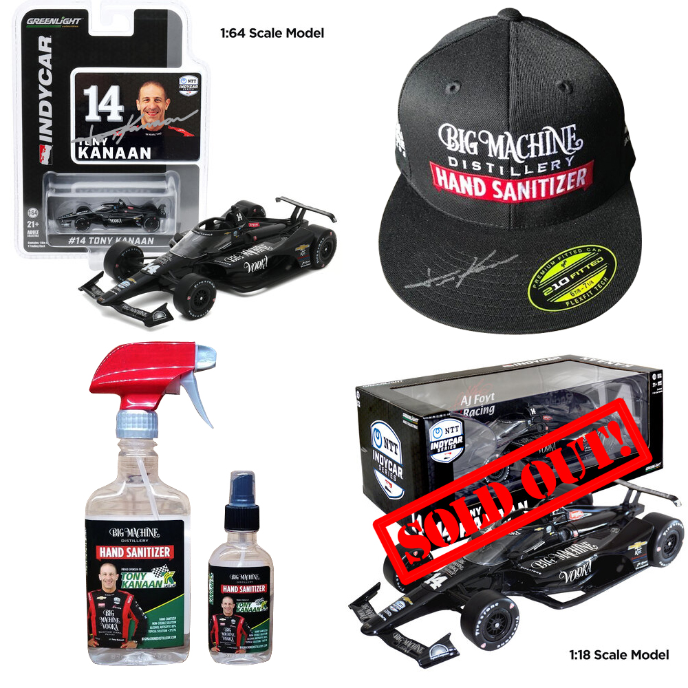 🇺🇸 Still a few @bigmchnvodka 1:64 autographed diecasts available at https://t.co/LyMBk2lT4i. 1:18s are gone already 😱. Check out the signed hat and also their line of hand sanitizers! #bigmachinevodka #bigmachinehandsanitizer #handsanitizer https://t.co/oHvTst0CKh