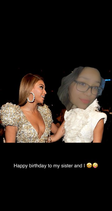 Happy birthday to my girl Beyoncé