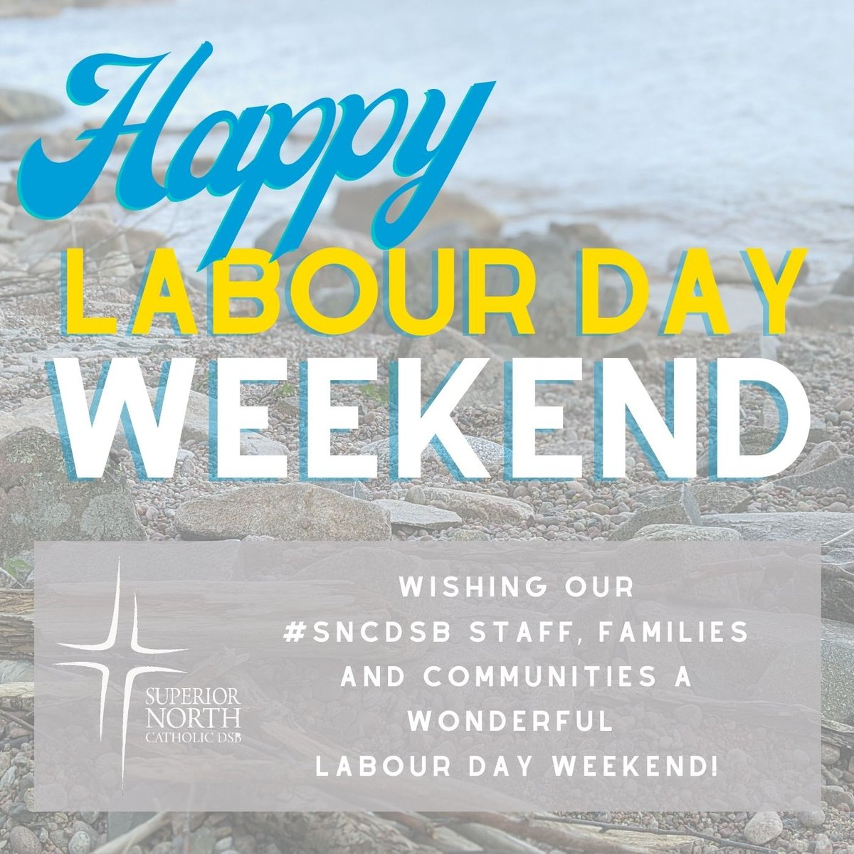 Wishing our #SNCDSB staff, families and communities a wonderful Labour Day Weekend! https://t.co/gCdcjXSY0a