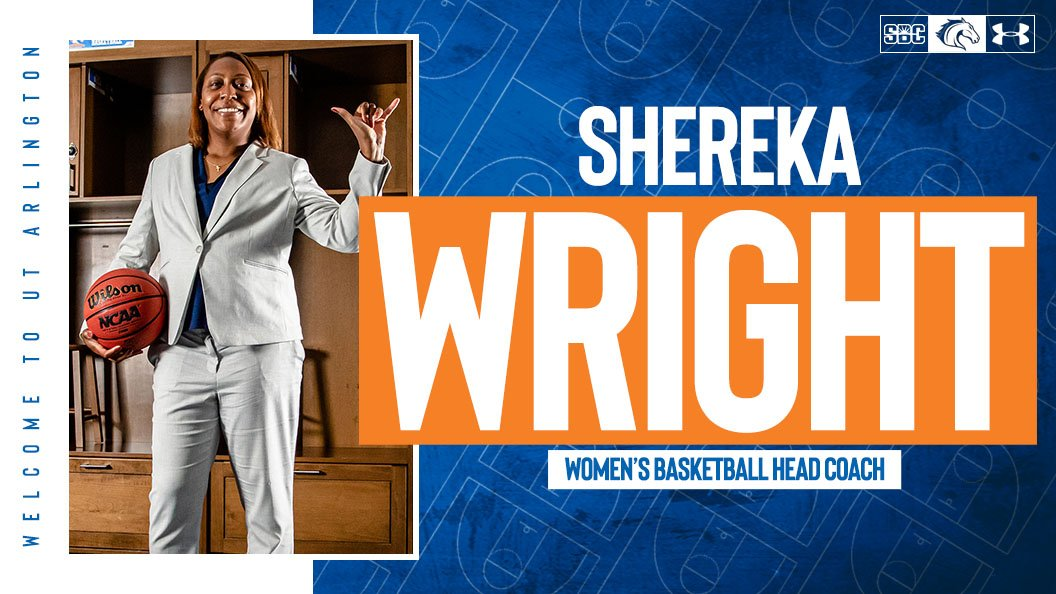 🚨BREAKING NEWS🚨 Shereka Wright (@CoachRekeUTA) Tabbed To Lead UTA Women's Basketball Program  📰 » https://t.co/3Foq6pvL6p https://t.co/RTPSJqm0jh