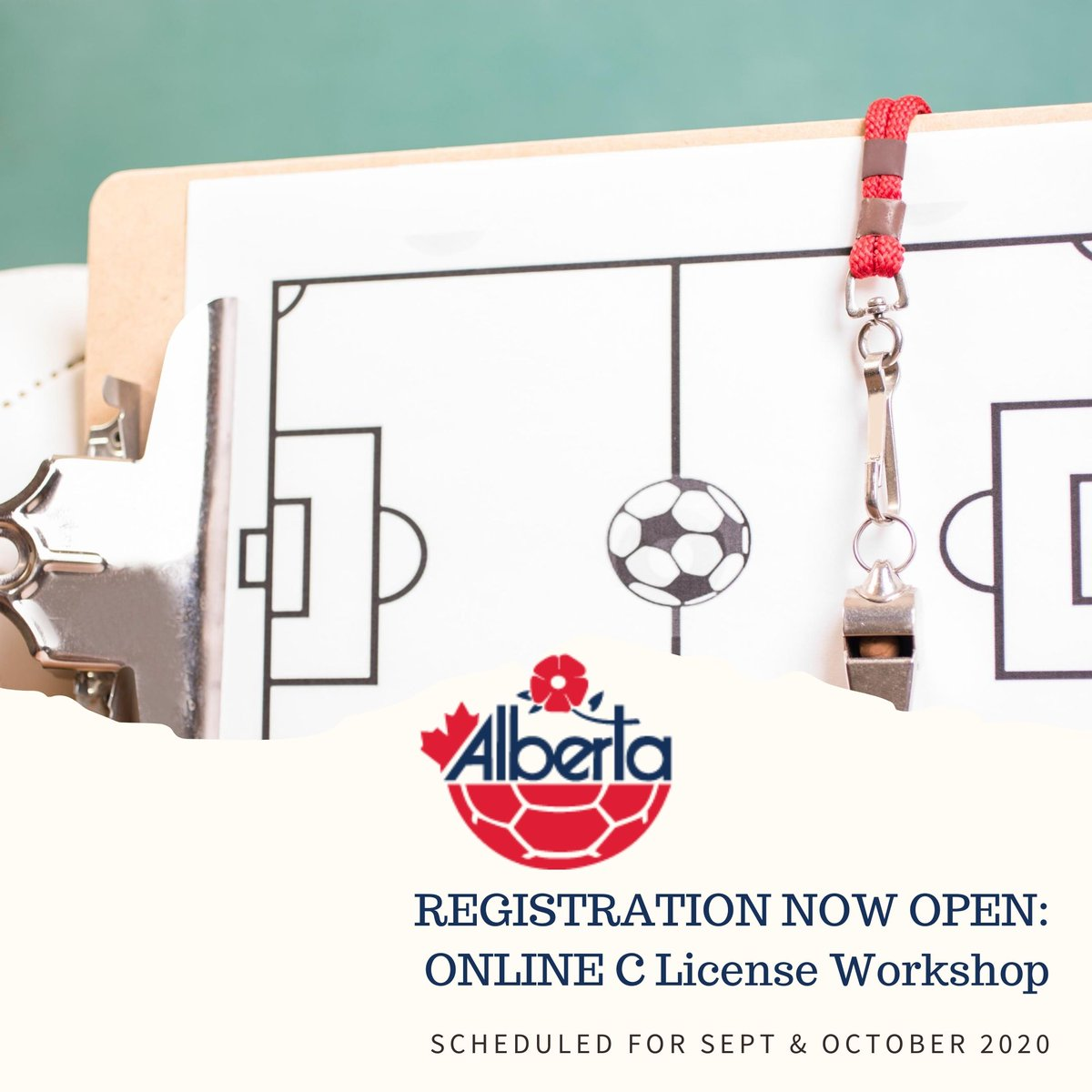 Been thinking about starting your licensing journey? You are in luck! Alberta Soccer will be hosting an Online C License workshop this September & October. To find out more information about the C license program & to register go to https://t.co/wYCOGvdsyq https://t.co/sisWXLJBKD