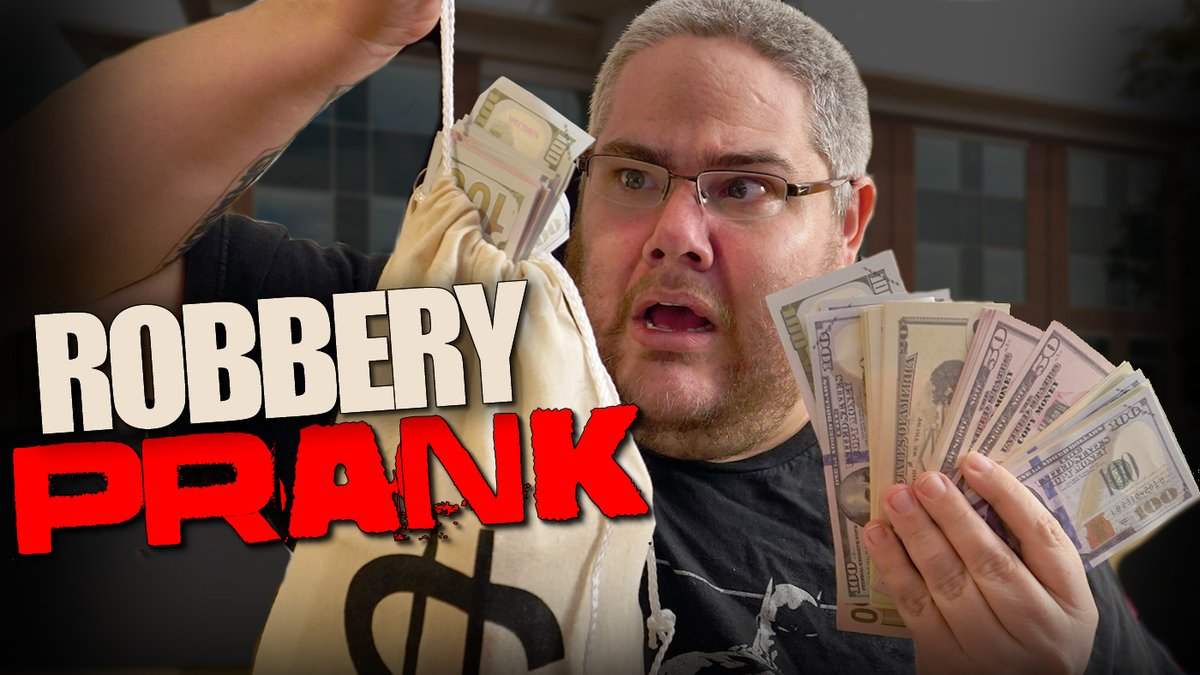 Kidbehindacamera On Twitter The Bank Robbery Prank Https T Co Rqjv4zqrpy Like For More Pranks Check out inspiring examples of kidbehindacamera artwork on deviantart, and get inspired by our community of talented artists. twitter