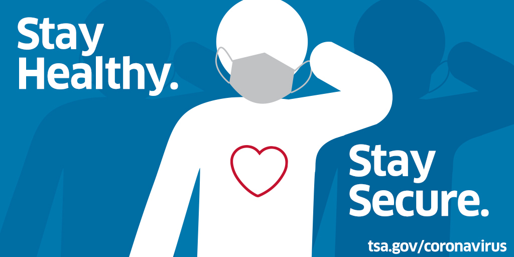 What does touch free technology look like while traveling?  Keep possession of your boarding pass and scan yourself in. You'll just need to show your boarding pass to the TSA officer for visual inspection. #StayHealthyStaySecure https://t.co/Slt93HMjvs