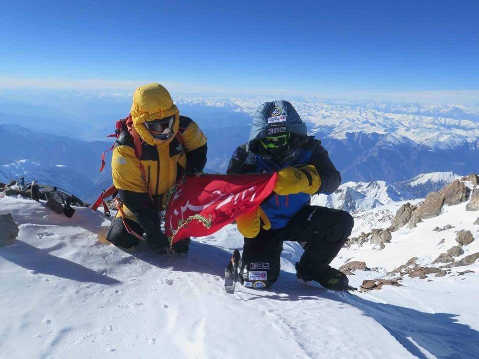 First winter ascent of Nanga Parbat. Feb 2016 #muhammadalisadpara #nangaparbat https://t.co/qgtYCMKXlP