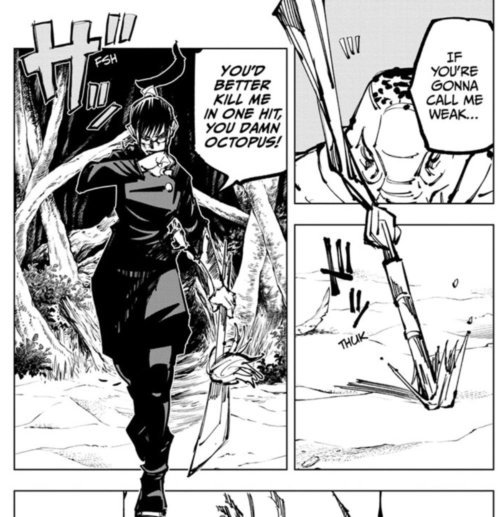 Jō Cr Toriko Opm On Twitter Great Maki Content This Chapter