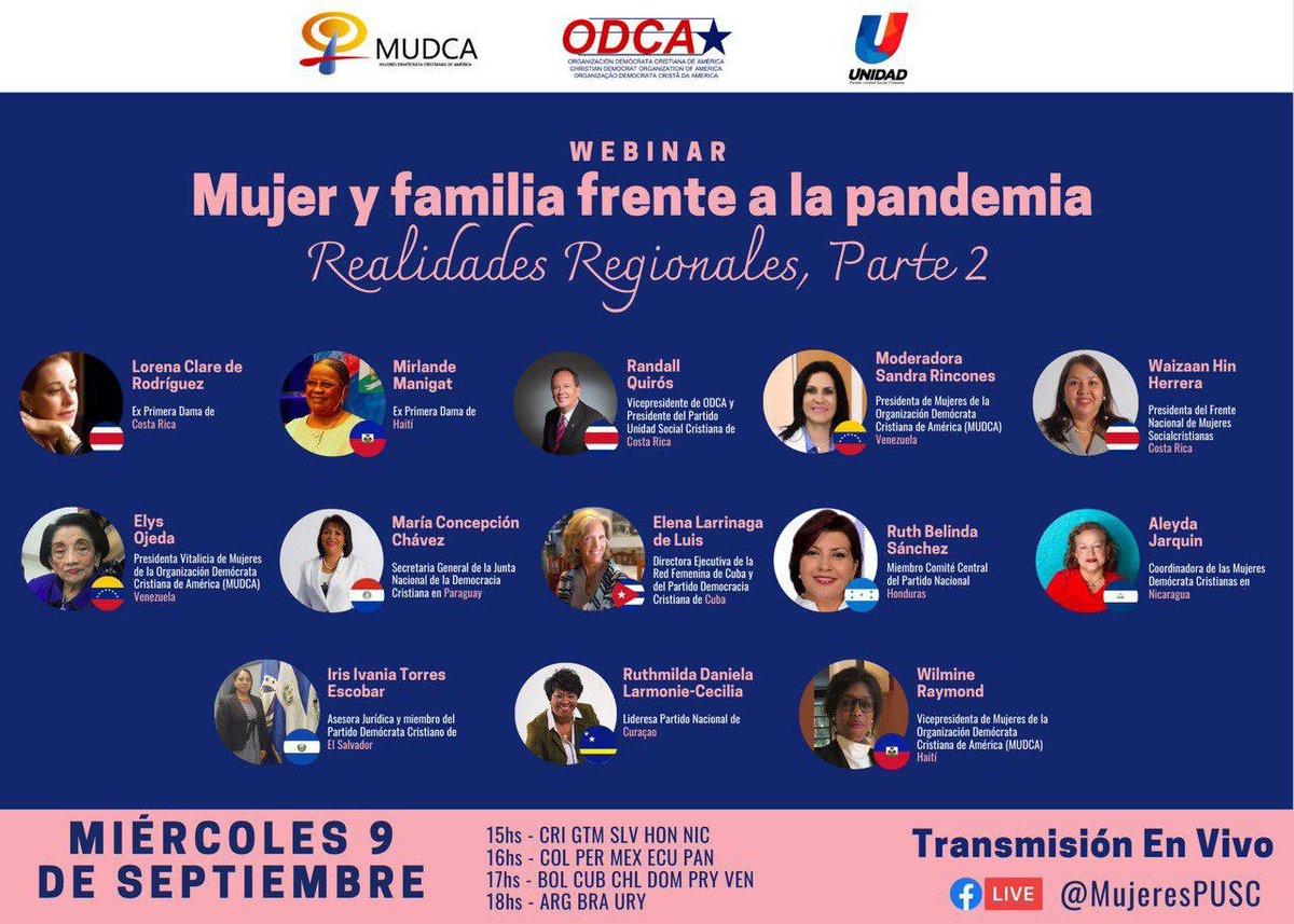 Todos invitados a participar el próximo miércoles 9 de setiembre 3 pm hora de Costa Rica 🇨🇷!! https://t.co/jDfMB6dQrD