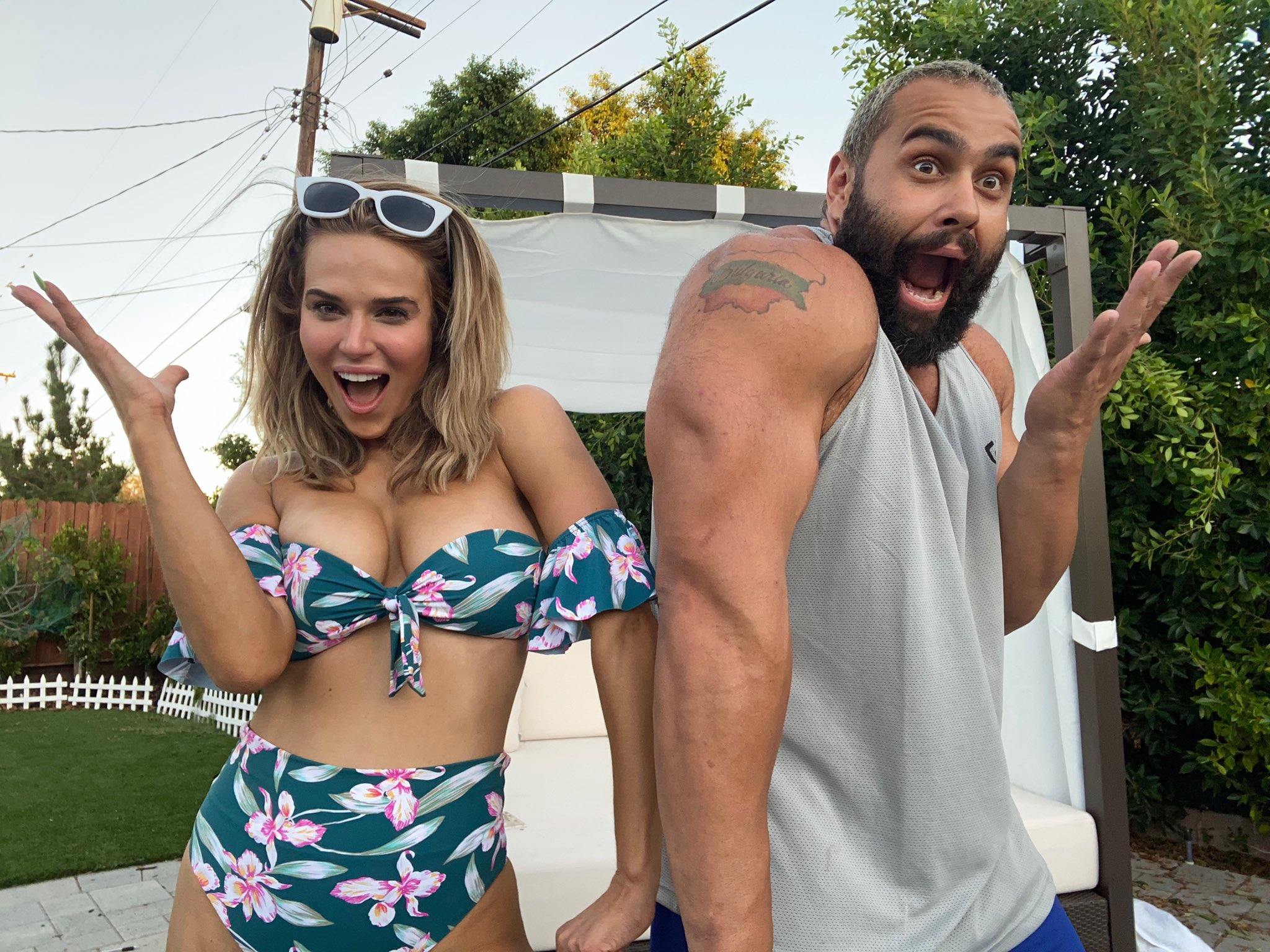 WWE's Lana Shows Off In Bikinis; Comments On Twitch Controversy 4