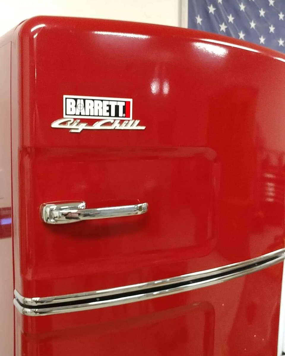 Snag some #Barrett Logo Magnets for your fridge, gun safe, tool box   #barrettfirearms #Barrett50
