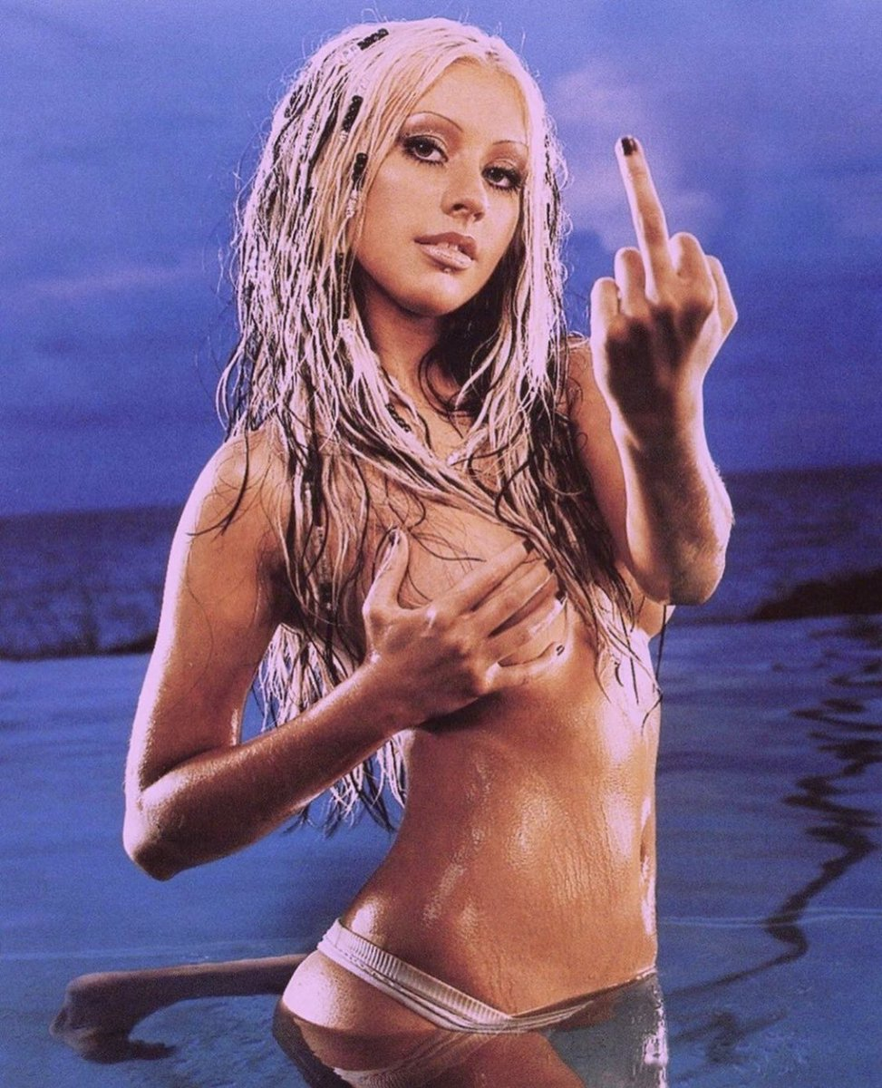 Christina aguilera naked in the streets