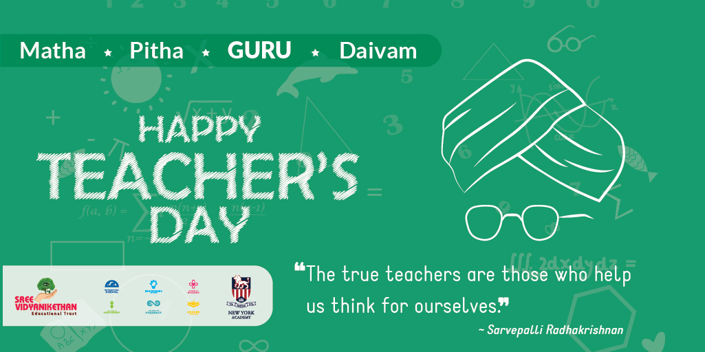 TEACHING is not just a profession. It's a precious responsibility.  Teachers have the highest capability to awake the interest of students and travel in that direction.   Wish all #Teachers and #Students a Happy #TeachersDay  #HappyTeachersDay #HappyTeachersDay2020