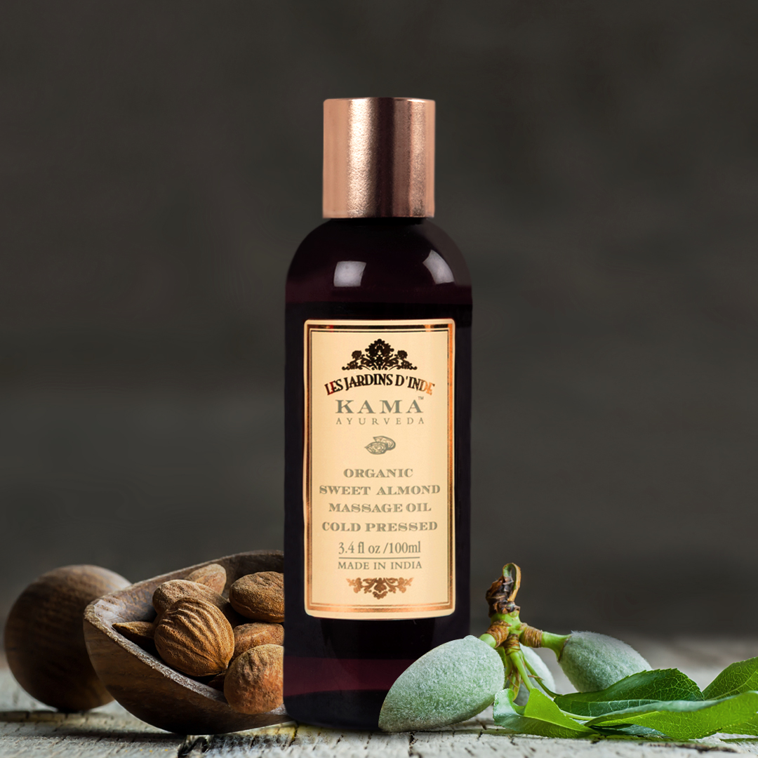 Prescribed in #Ayurveda for good health & healing, Organic Sweet Almond Oil is a rich source of #Olein and #Vitamins, and nourishes both #skin & #hair.   Get this #MiracleOil: https://t.co/u9j0LFXgIP  #KamaAyurveda #StrongerWithAyurveda #SkinCare #HairCare #AlmondOil https://t.co/P0xuuleR1h