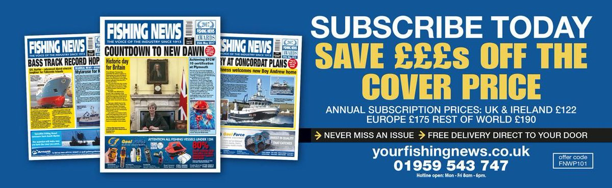 You could save £££s and have your issue delivered to your door each week with the latest Fishing News subscription deals! Check them out via https://t.co/AcY4Wgok7I https://t.co/qSsImPQasx