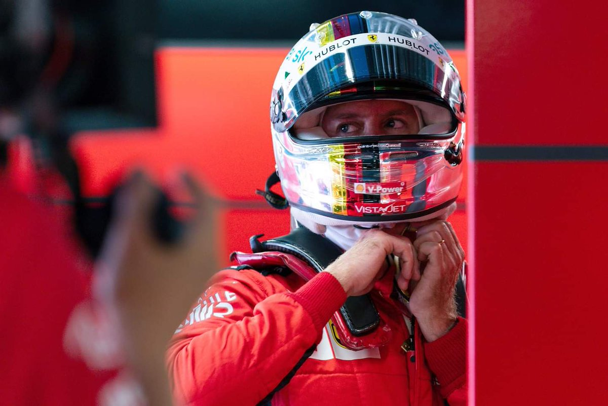🏁 Qualifying Day 🏁   #ItalianGP 🇮🇹 #Vettel #SV5 https://t.co/9vHiPi01hp