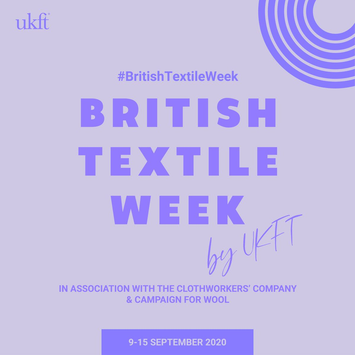 A showcase of the craftsmanship, imagination and innovation of the UK textile industry - whats not to love. Keep your eyes peeled for this digital showcase appearing on your screens soon! @UKFTorg @Campaignforwool #Britishtextilesweek #HarrisTweed