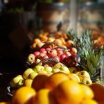 Image for the Tweet beginning: Early autumn fruit display at