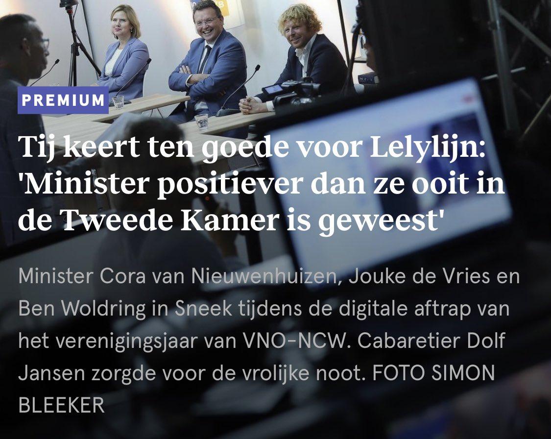 """""""Modellen houden niet op bij de grens."""" Ondernemers uit Noord-Nederland wijzen graag op de kansen die de Lelylijn biedt voor een betere verbinding met Bremen en Hamburg. https://t.co/nnB9mqPhMq #lelylijn #wunderline #EUYearofRail https://t.co/ZwpicM1kIx"""