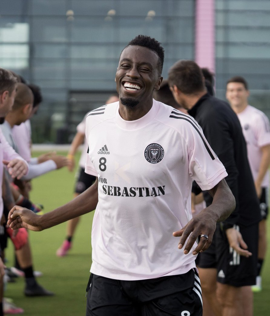 Thank you la Familia @InterMiamiCF for such a warm welcome 🙌🏾🙌🏾🙌🏾 #GiveItAll https://t.co/sqOVt4Tvvh