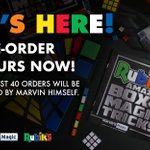 ITS HERE! Introducing #Rubiks Amazing Box of Magic Tricks ✨   Pre-order yours now! The first 40 orders will be signed by Marvin himself 🎉   https://t.co/kXsz6ocM8g