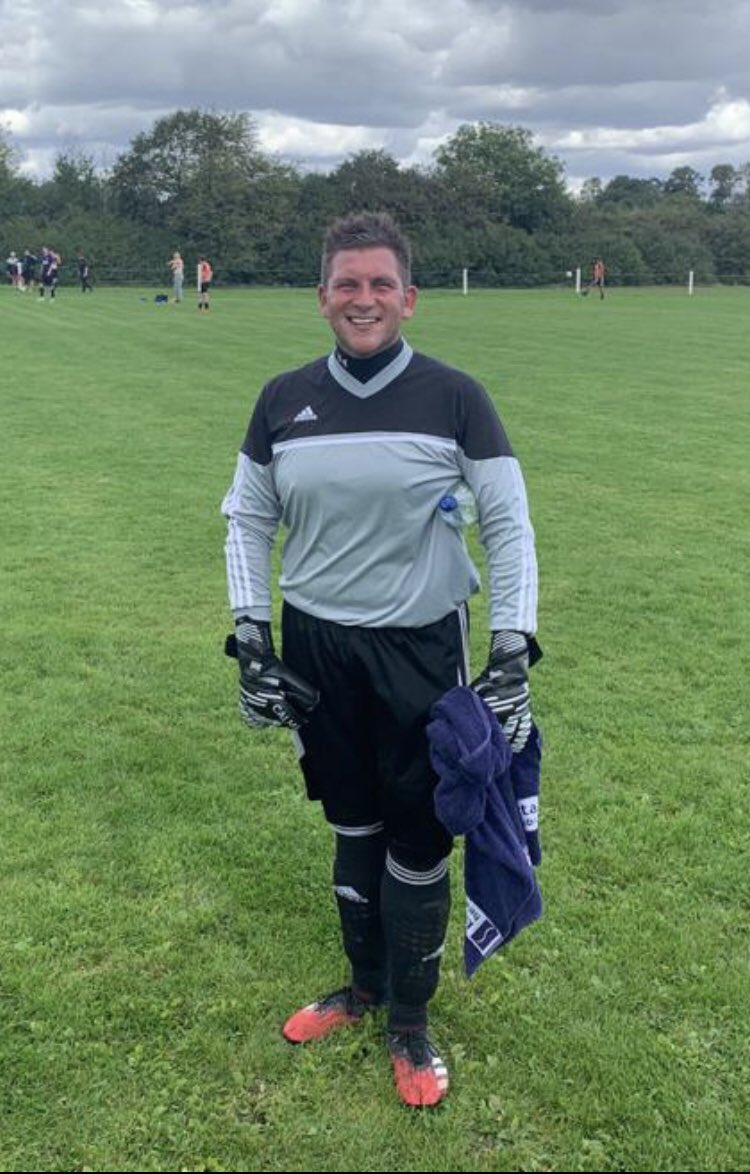 Thank you to @BletchleyParkFC for having me in goal today - four years since my last match following numerous injuries. Great game @MSRFC_ - good luck for the season #fouryearsinjured #comebackkid #goalkeeper https://t.co/qK2FenGuL2