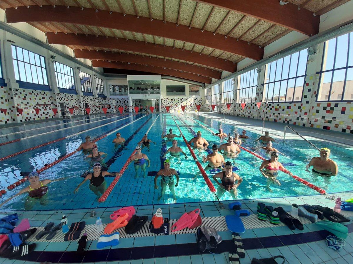 Comencem temporada 🏊♂️🏊♀️🏊♂️🏊♀️2020-2021 @CN_EldaMaster  #natació #màster #swimming #elda https://t.co/g3U7dXgKfw