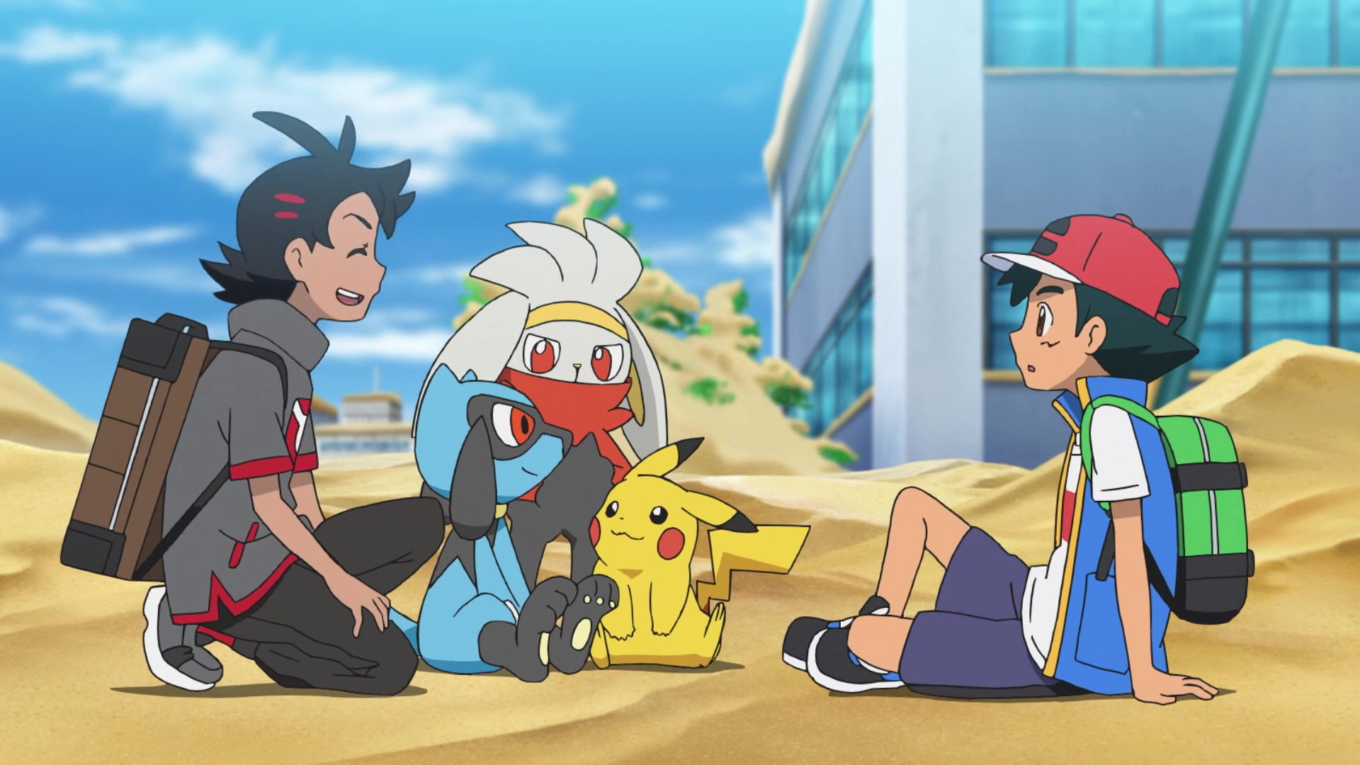 Flygon Anime Pokémon