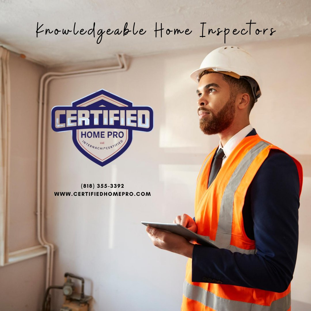 Certified Home Pros are the experts you want on your side. . . . . . #HomeInspectors #creditreport #foreclosure #renovated #plumbing #Certified #Licensed #Insured #CertifiedHomeProfessionals #Professionals #InspectionServices #California #TermiteInspection #HomePro https://t.co/g7DCX1p3eD