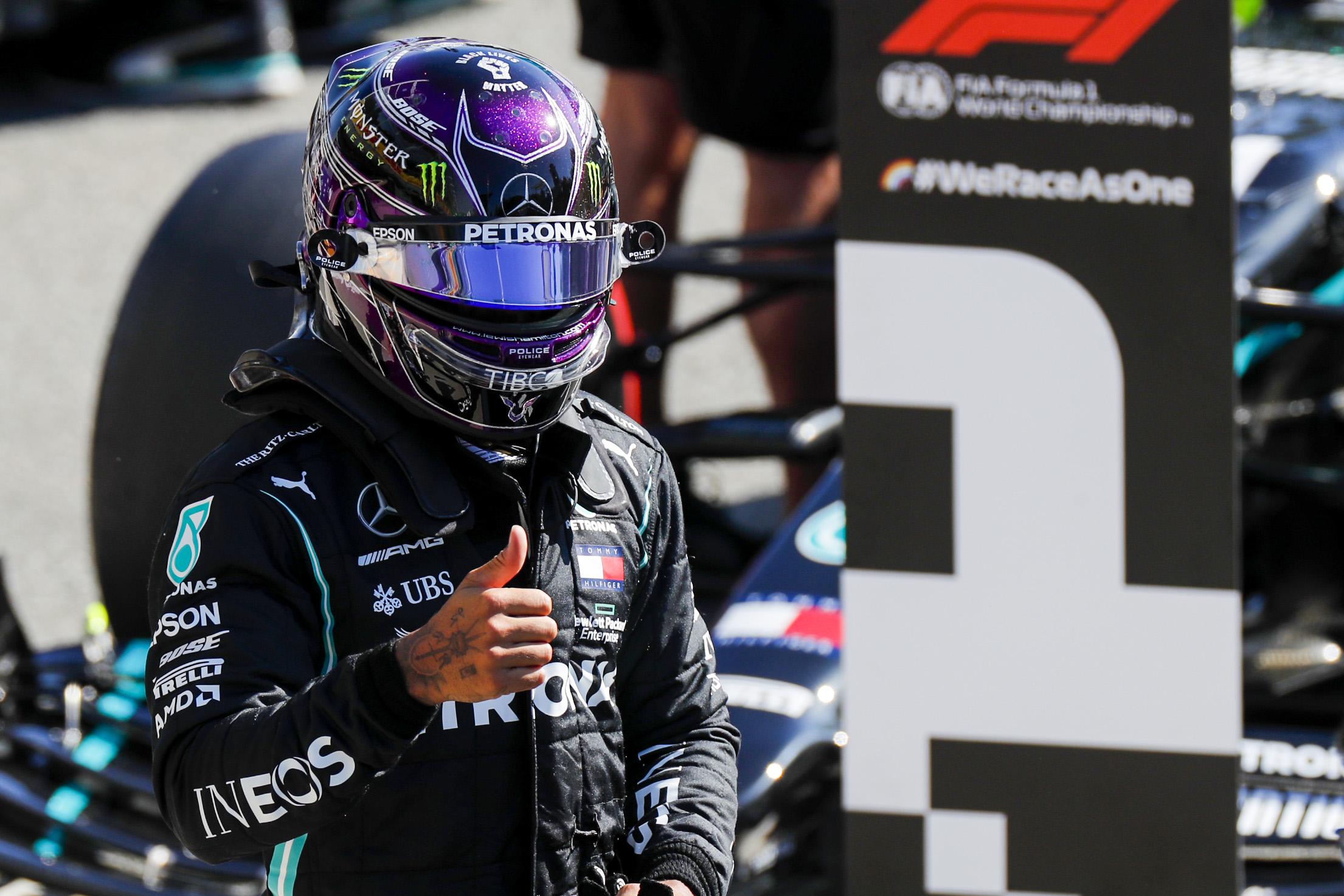 GP Italia Qualifiche Hamilton