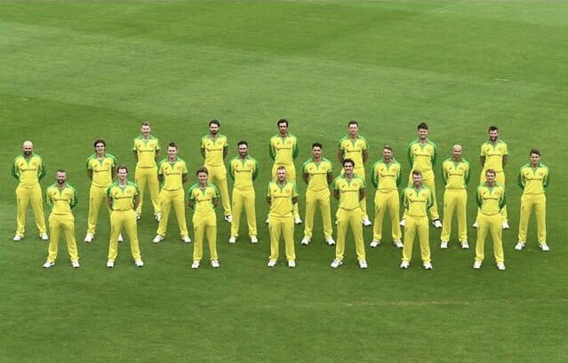 Australian cricket team refused to bend the knee for #BLM with their match against England. Welldone Ausies! https://t.co/E1MyOeylEu