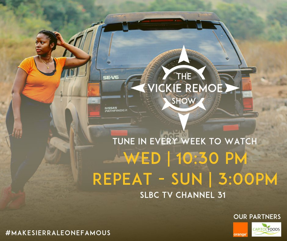 Sierra Leone News - 8 lessons learned from the Vickie Remoe Show in #Kenema - #MakeSierraLeoneFamous edition Ep 1 -https://t.co/cU439GWNqw https://t.co/rEpX4EBS40