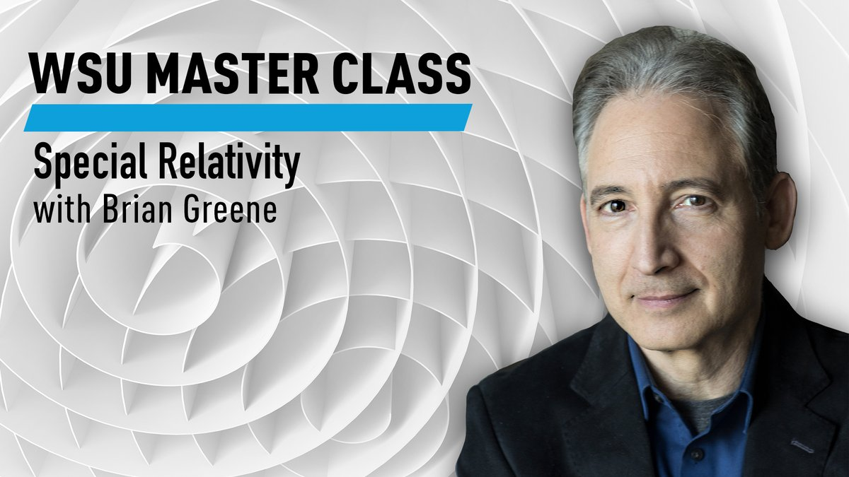 It's almost Labor Day! Spend the holiday diving into our new class, SPECIAL RELATIVITY with @bgreene. In just 11.5 hrs and using high school algebra, journey from Einstein's musings on the speed of light to his discovery of E = mc2 https://t.co/flCGvE9vG2  #WorldSciU https://t.co/8HsivU0dv8