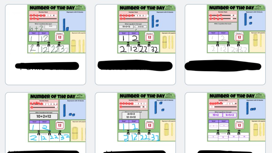 """NEW POST: """"Virtual Manipulatives for 'Hands On' Math in K-3 Virtual Learning"""" https://t.co/1QbPCG1q25  Sharing some of my favorites for designing interactive math experiences for young learners in a distance or online setting #K2CanToo #CUSDRockstar #cuechat #elemmathchat https://t.co/2ItiAcWL8d"""