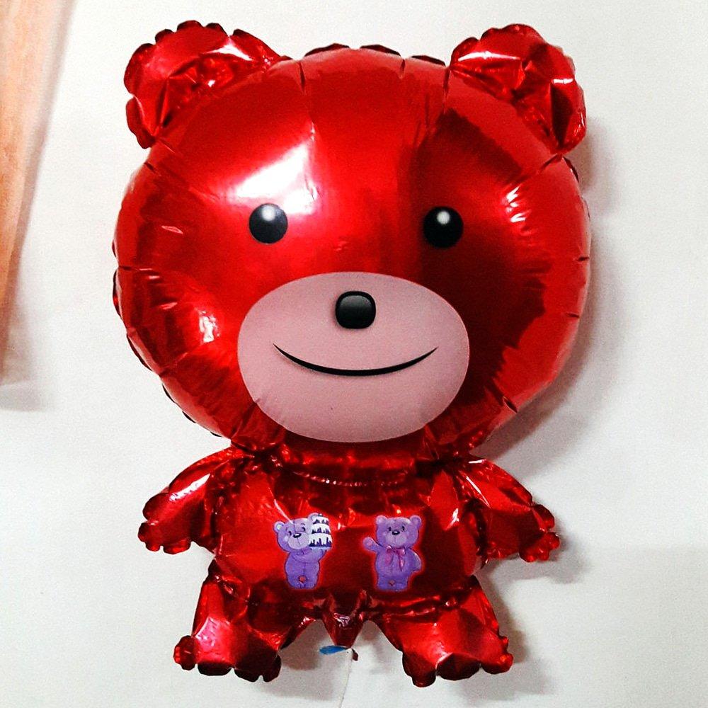 .The Red Bear. 🐻🐻🐻 #theredbear #redbear #red #bear #redballoon #balloon #smileybear #smilingbear https://t.co/Tr4Eqhl0Fr