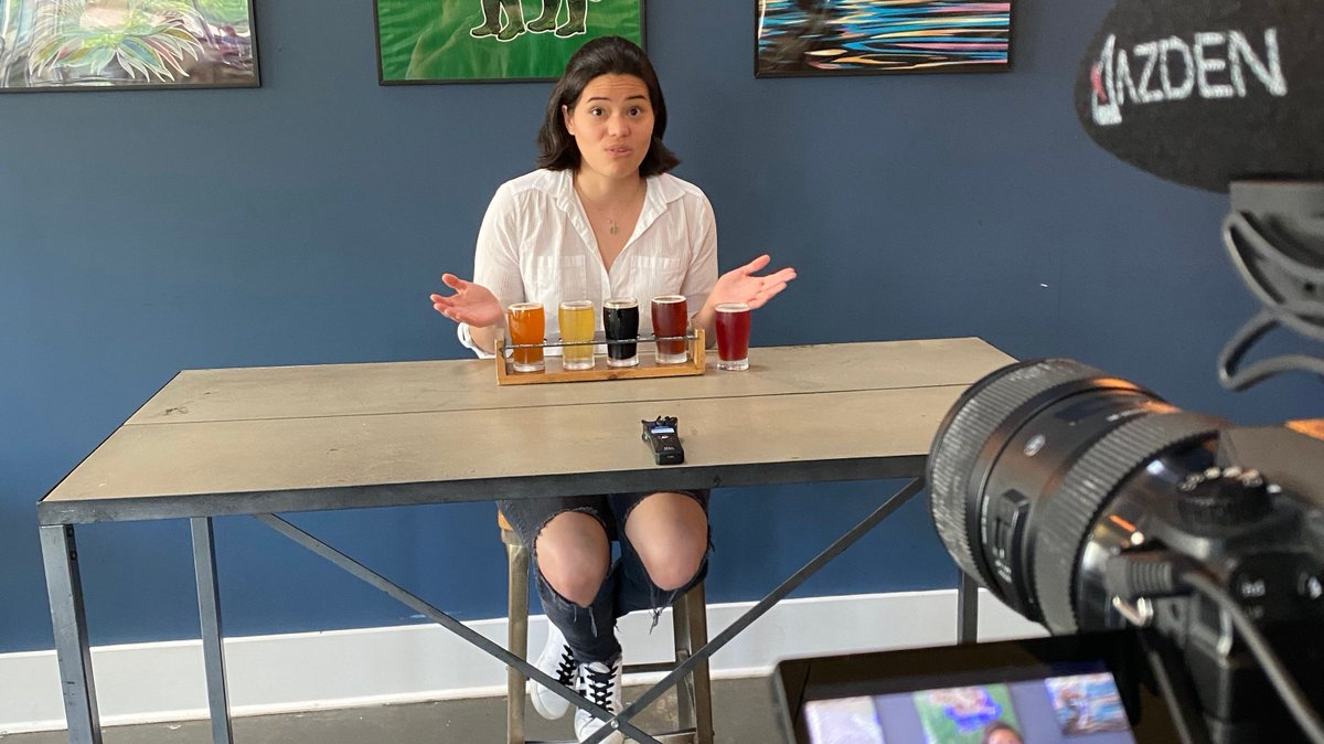 """Have you checked out our NEW IGTV Channel?! We just launched our first series """"Test your Taste Labs"""" and trust us - this is not one to be missed 🤣 🍻 We basically rounded up some of your favorite influencers invited them to our taproom to try our most adventurous D9 beers. https://t.co/eaEnE7Drx2"""