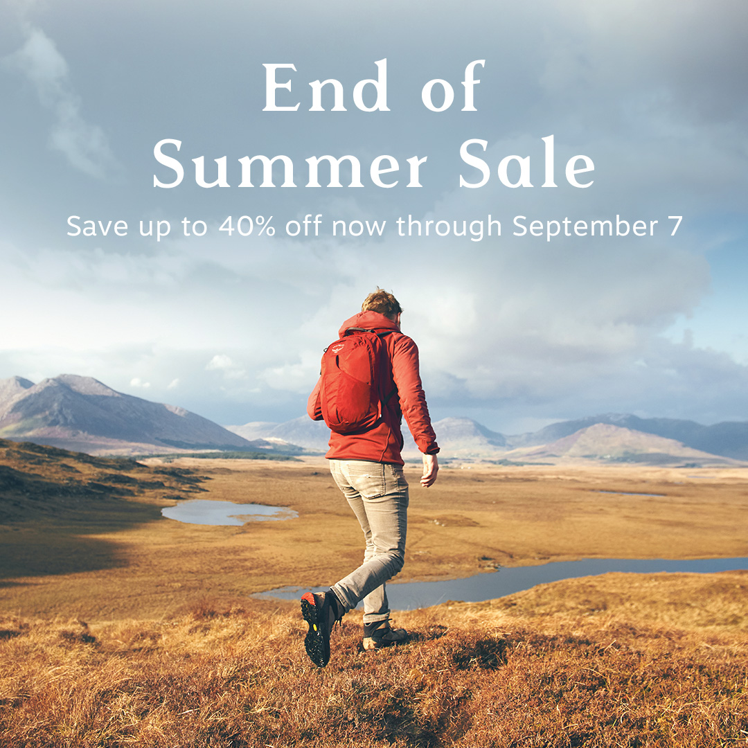 Our End Of Summer Sale is here. Save up to 40% off backpacking, hiking, travel and lifestyle packs now through September 7. Get it on sale and hit the trail! https://t.co/o8IhfSrZSq https://t.co/ePfbjiECu1