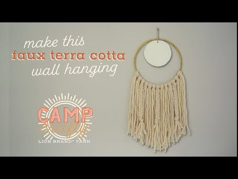 There's a new Camp Crafty video on the #LionBrandYarn YouTube page! This week we learned how to make a Faux Terra Cotta Wall Hanging - #CampCrafty #YarnStash! . https://t.co/adRWAIXjwa https://t.co/mXDGh5cxfK