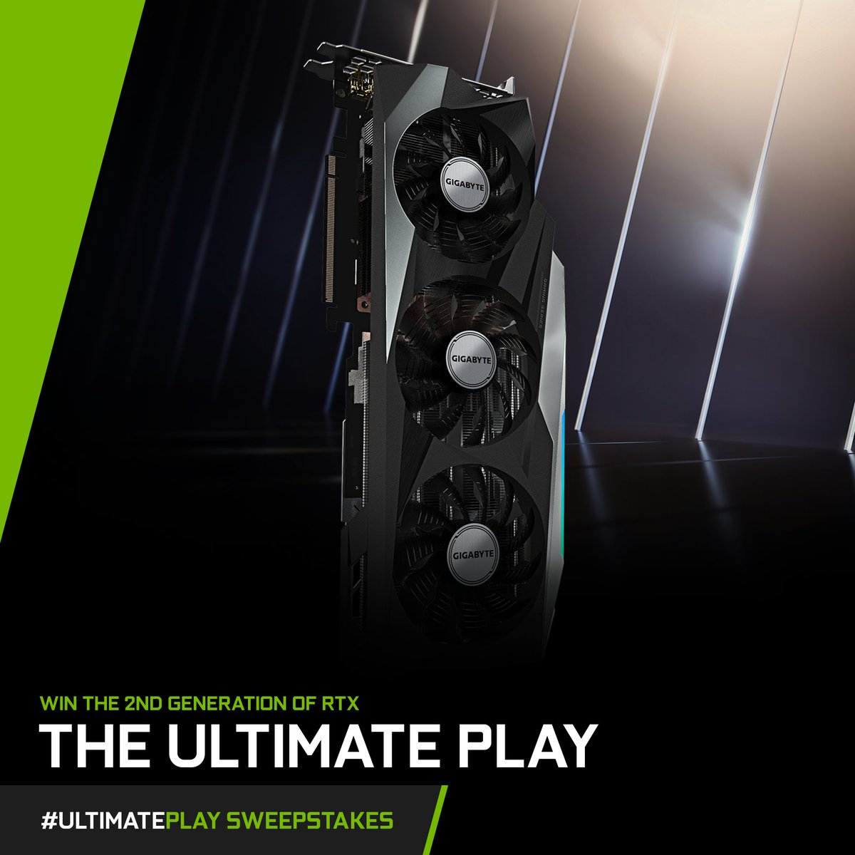 Today's #UltimatePlay Card Spotlight: @AorusOfficial    Key Features:   ⚪ WINDFORCE 3X Cooling System ⚪ RGB Fusion 2.0 – sync w/other AORUS devices ⚪ Protection metal back plate   Want your chance to win this card?  1. RT this post 2. Reply with #UltimatePlay