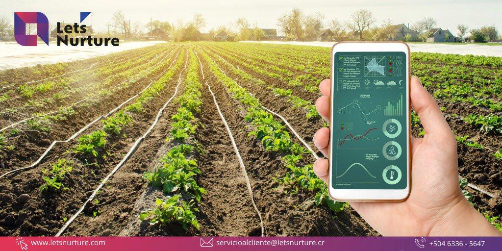 LA AGRICULTURA INTELIGENTE PUEDE SER LA SOLUCION . Mas información la aplicación de soluciones IoT en Agricultura inteligente y otras industrias claves del país, visita: letsnurture.cr #letsnurture #agricultura #agriculturainteligente #centroamerica #sudamerica