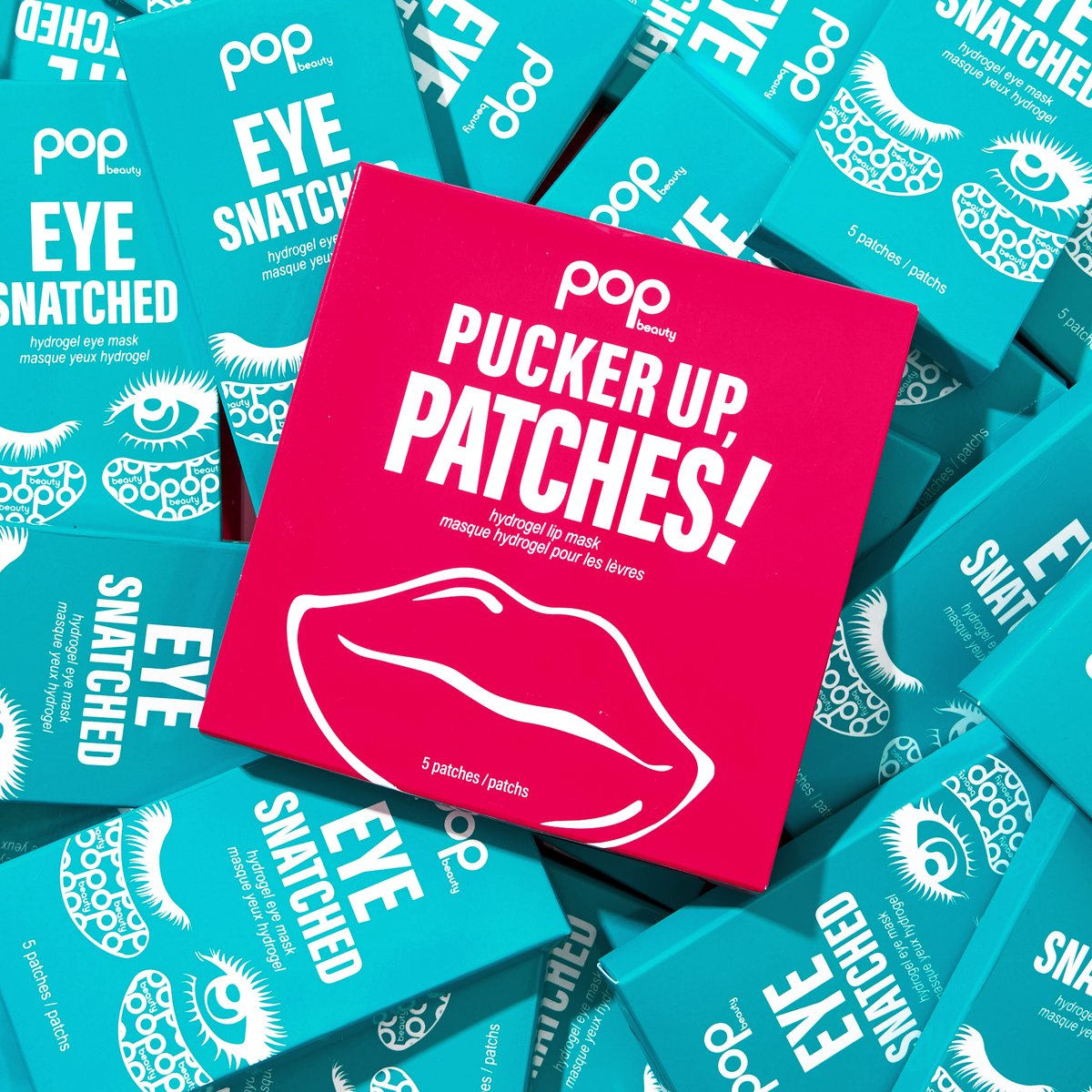 Patches, please!😉 #MakeItPOP with Pucker Up, Patches! & Eye Snatched! #POPbeauty #PuckerUpPatches #EyeSnatched https://t.co/b5kuT5kIgV