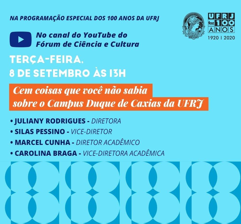 Participe usando as hashtags #UFRJFaz100anos e #SerUFRJ.   #NossaHistoriaSeuFuturo https://t.co/QdLij69ZJp